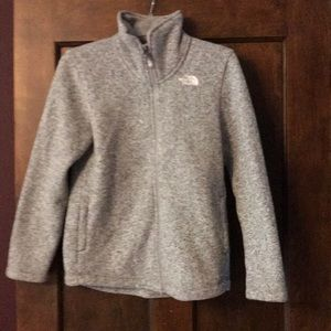 Girls North Face Crescent Jacket size 14/16
